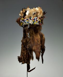 "Image of Diviner's Headdress (""Nkaka"")"