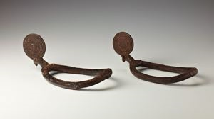 Image of Pair of anklets